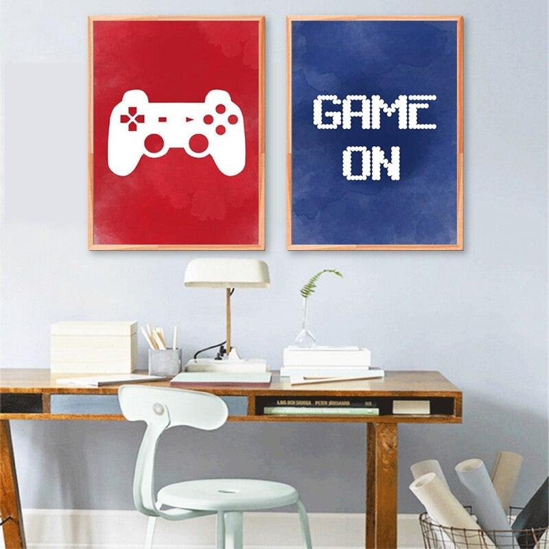 Gamer Pegatinas de Pared nacido 2 Play Juego PS4 Arte Calcomanía Grandes Para Niños Chicos Dormitorio