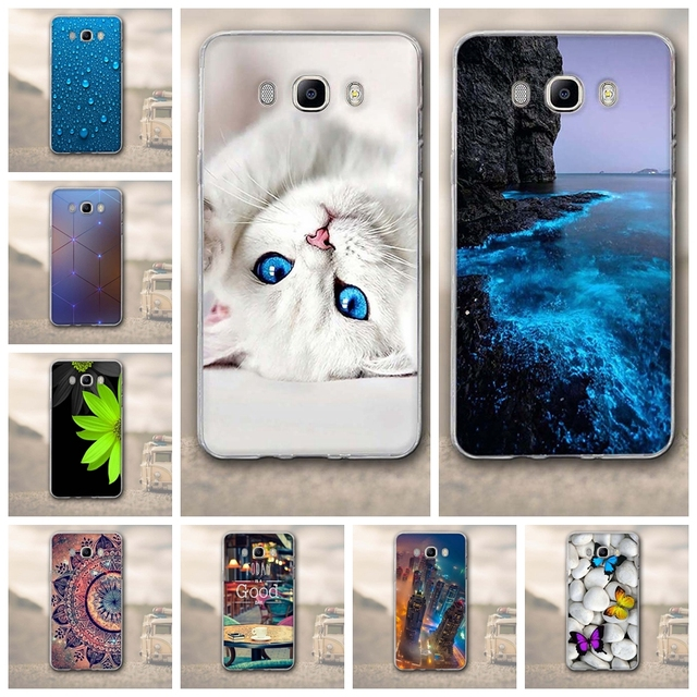 TPU Soft Silicon Cover For Samsung Galaxy J7 2016