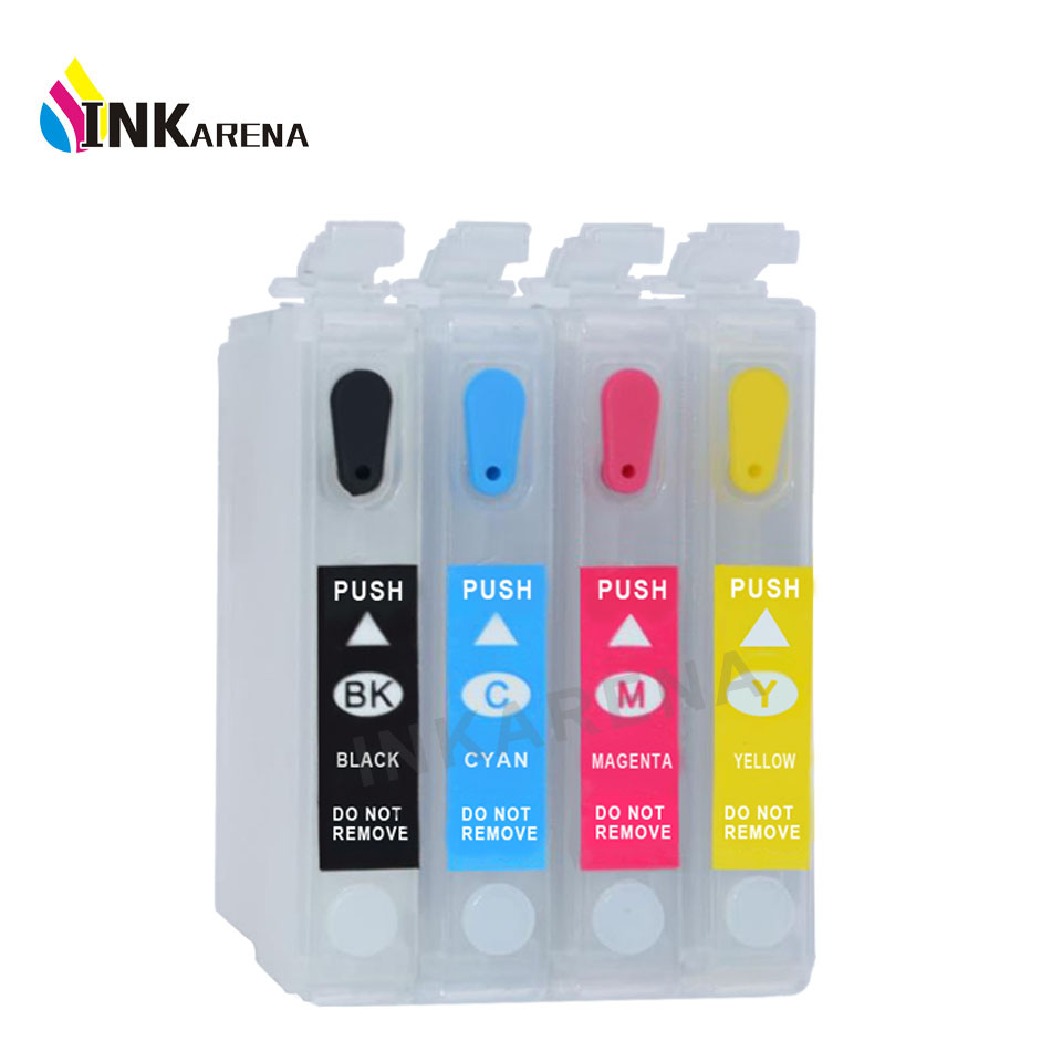 73 T0731 Empty Refillable ink cartridge for Epson TX209 TX419 CX3900 CX5900 CX4900 CX4905 TX300F Printer Ink Auto reset chip 11 color 300ml empty refillable ink cartridge for epson 4910 printer with auto reset chip