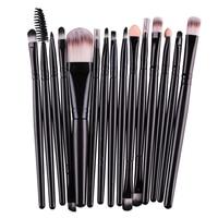15 шт. кисти для макияжа Набор инструментов, Make-up несессер комплект Марка Make Up Brush Set Pincel Maleta де Maquiagem 7 цветов подарок на Новый год