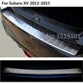 Автомобильный внешний задний бампер Защита накладка стиль покрытие из нержавеющей стали пластина педаль 1 шт. для Subaru XV 2012 2013 2014 2015