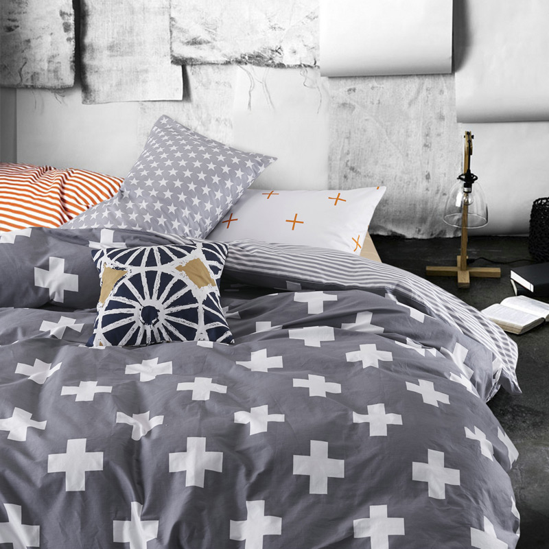 Cotton Comforter Bedding Sets Home Cover Bed Sheet Set