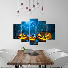 Canvas HD Prints Home Decorative Hallowmas Painting 5 Pieces Wall Art Frame Pictures For Living Room Free Shipping Abooly