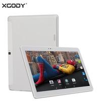 XGODY K108 3G Dual Sim Appel Téléphonique Tablette 10.1 Pouce Android 5.1 2G RAM 32G ROM MTK MT6580 Quad Core Phablet OTG WiFi Tablet PC