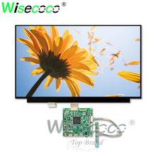 wisecoco 15.6 inch 3840*2160 4K IPS NV156QUM-N32 LCD slim LCM screen dispaly with 2 HDMI eDP controller board driver cable