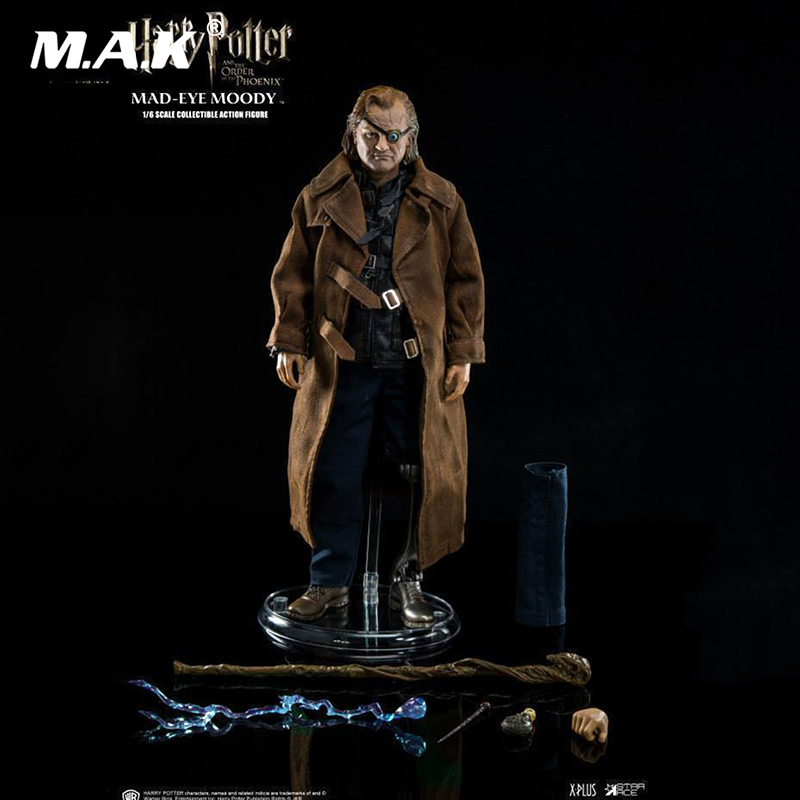 Star Ace Toys 1/6 Mad-Eye Moody action figure Harry Potter Order of the Pheonix full set with original box star ace 1 6 harry potter hermione granger emma watson collectible action figure doll