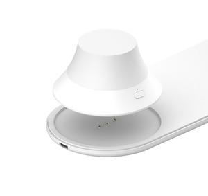 Image 4 - Yeelight 무선 충전기와 LED 야간 조명 자기 매력 아이폰에 대한 빠른 충전 삼성 화웨이 전화