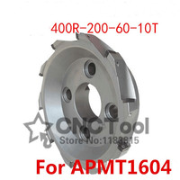 BAP400R 200 60 10T 90 Degree Right Angle Shoulder Face Mill Head,CNC Milling Cutter, For APMT1604