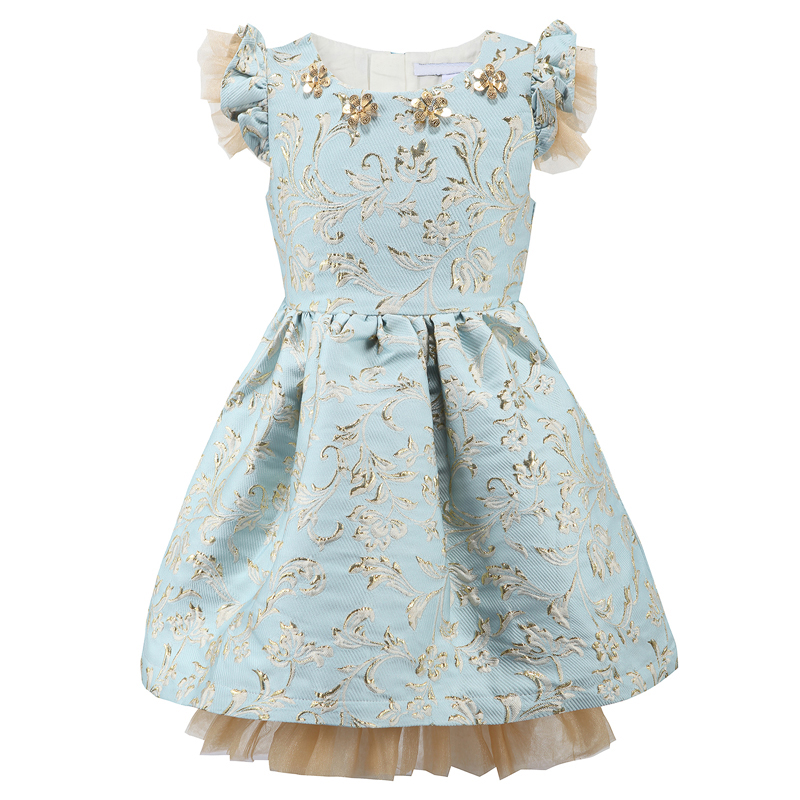 2 8 years new style autumn baby girl flower girl dress for wedding kids party dresses christmas. Black Bedroom Furniture Sets. Home Design Ideas