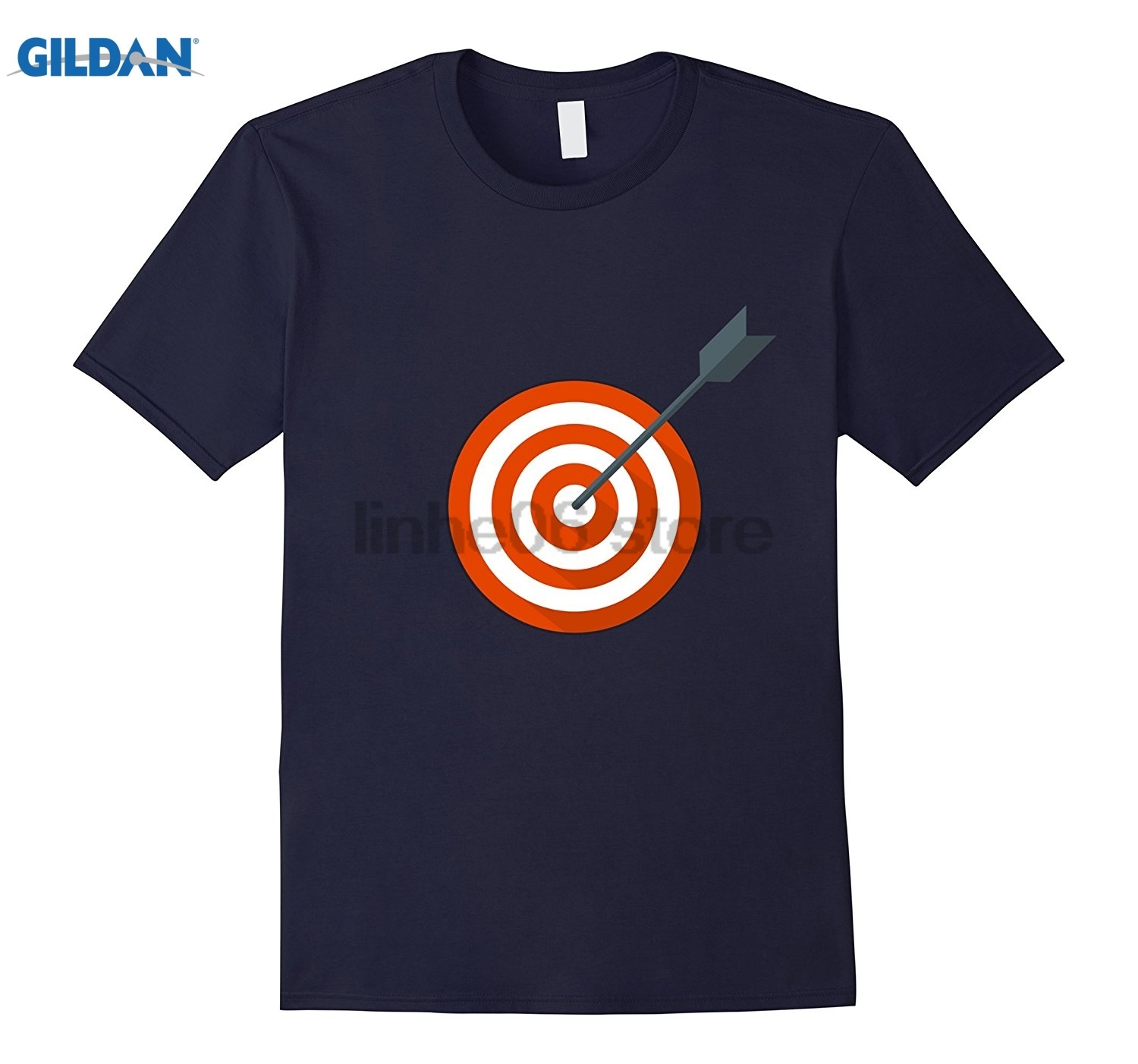 GILDAN Archery Arrow Target Bullseye T-Shirt sunglasses women T-shirt