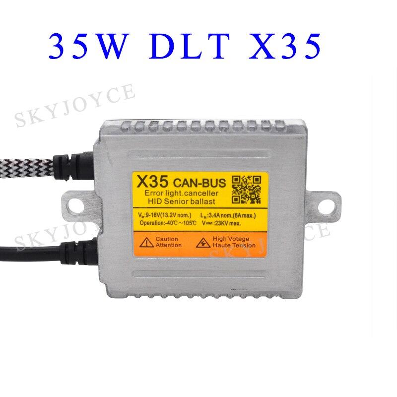 US $43 5 15% OFF|Original DLT HID Ballast AC 35W DLT F3 X3 X35 Fast Bright  Canbus Ballast F5 X5 X55 55W Fast Start Canbus Ballast 70W HID Ballast-in