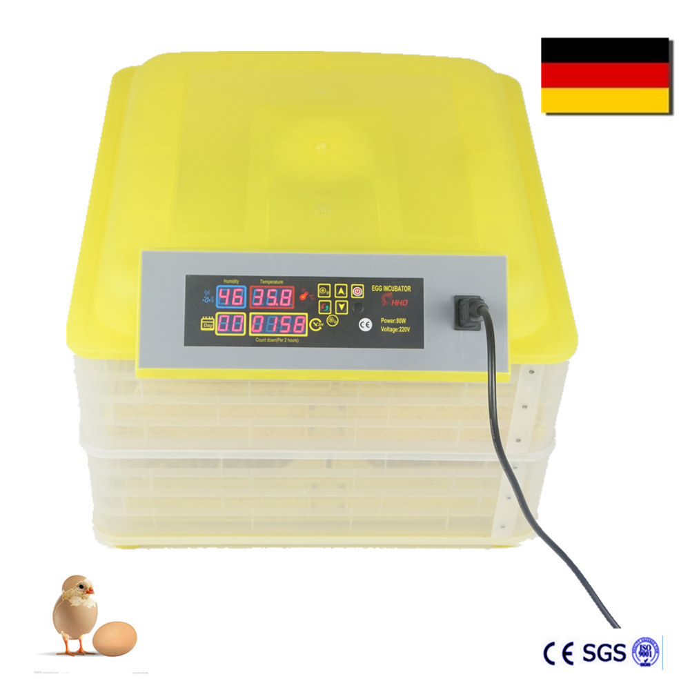 New Cheap China Smart LED Humidity and Temperature Automatic Chicken Incubator for Parrot Quail Chicken Egg Hatcher Brooder