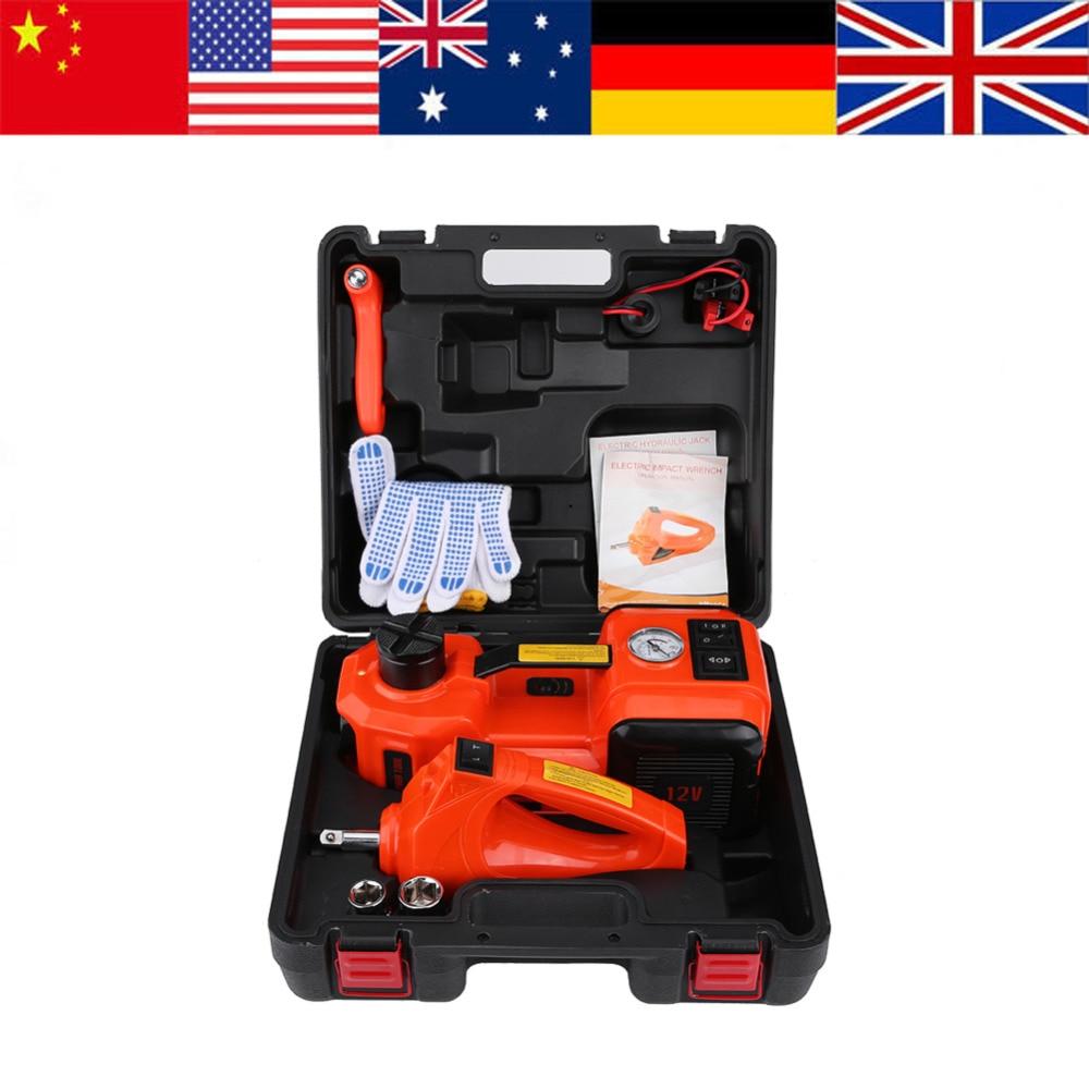 5Ton 12V DC Automotive Car Electric Floor Jack Lift Garage And Emergency Equipment Auto Jack Auto Elektrischer Wagenheber