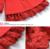 2015 de espesor de mujer abrigo de invierno de la princesa del cordón de piel de cuello de los bebés de lana abrigos y chaquetas de los niños ropa abrigo C50