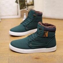 men snow boots botas masculina  fashion microfiber pu plus cotton ankle boots warm men winter boots shoes men 6-10.5