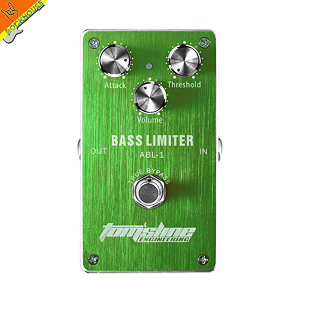 ФОТО Aroma ABL-1 Bass Limiter Bass Effect Pedal compressor reduce redundant dynamics Aluminum Alloy Housing True Bypass Free shipping