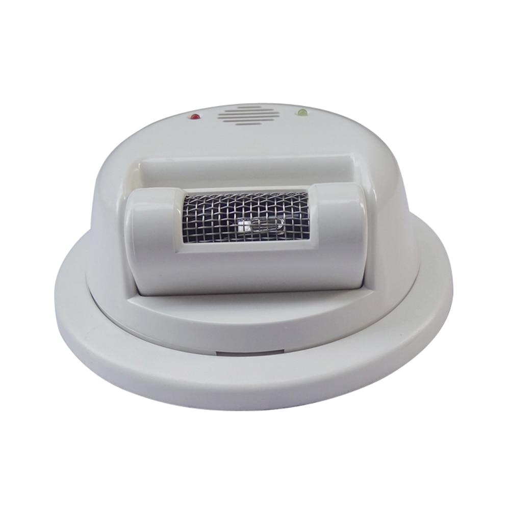 NUOVO 2000E filo di Fumo del Fuoco Allarme del sensore rilevatore di Fiamma Per La casa di sicurezza di petrolio e gas stazione di raggi ultravioletti Luce di uscita NC relè - 2