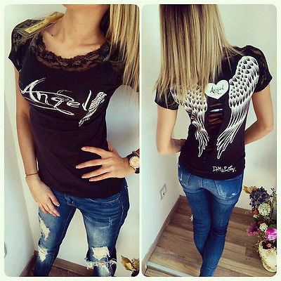 2016-New-spring-summer-T-shirts-women-unique-angel-wings-back-printing-short-sleeve-loose-tshirt