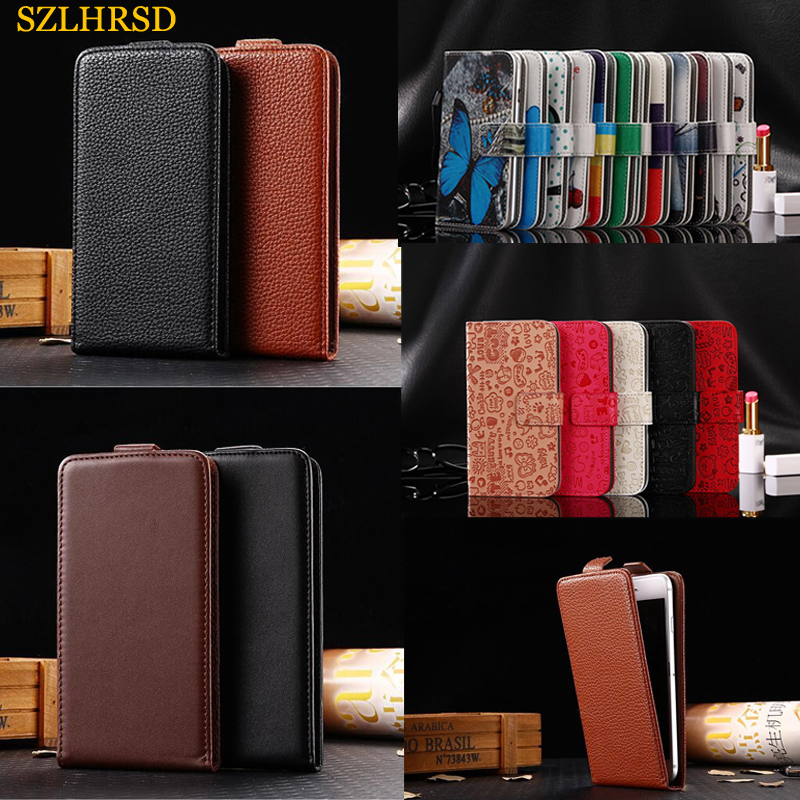 Doogee N20 Y9 Plus Leather Flip Case For HTC U19e PU Leather Card Slots Wallet Phone Shell Cover Gome C7 Bag Digma LINX Argo 3G
