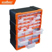 Novo 39 Gavetas Do Armário de Armazenamento Caixa De Plástico Caixa De Ferramentas No Peito Toolbox Organizador Bin