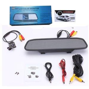 Image 5 - Podofo HD 4,3 Zoll Auto Monitor Spiegel Screen TFT LCD Farbe Display Parkplatz System für Rückfahr Kamera Nachtsicht umkehr