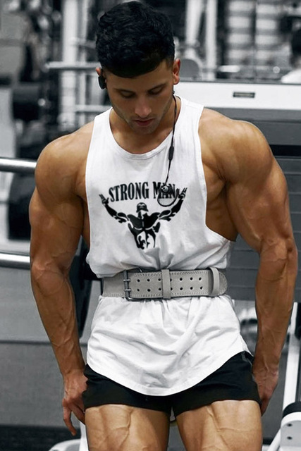 Sleeveless Cotton Bodybuilding Vest (21 Colors)