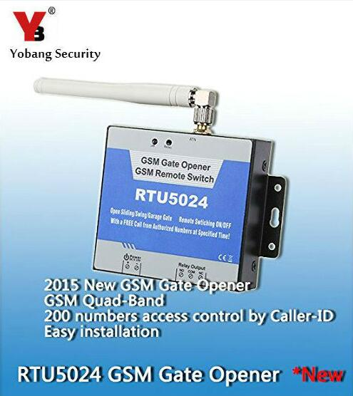 Yobang Security-20pcs/lot Automatic GSM Gate/Door Opener Relay Switch Remote Access Control By Free Call Security Alarm System в владимиров карательная экспедиция