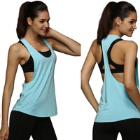 Women Loose Gym Tank Tops Fitness Quick Drying Vest Sport Sleeveless Tops 8 Colors Summer Women