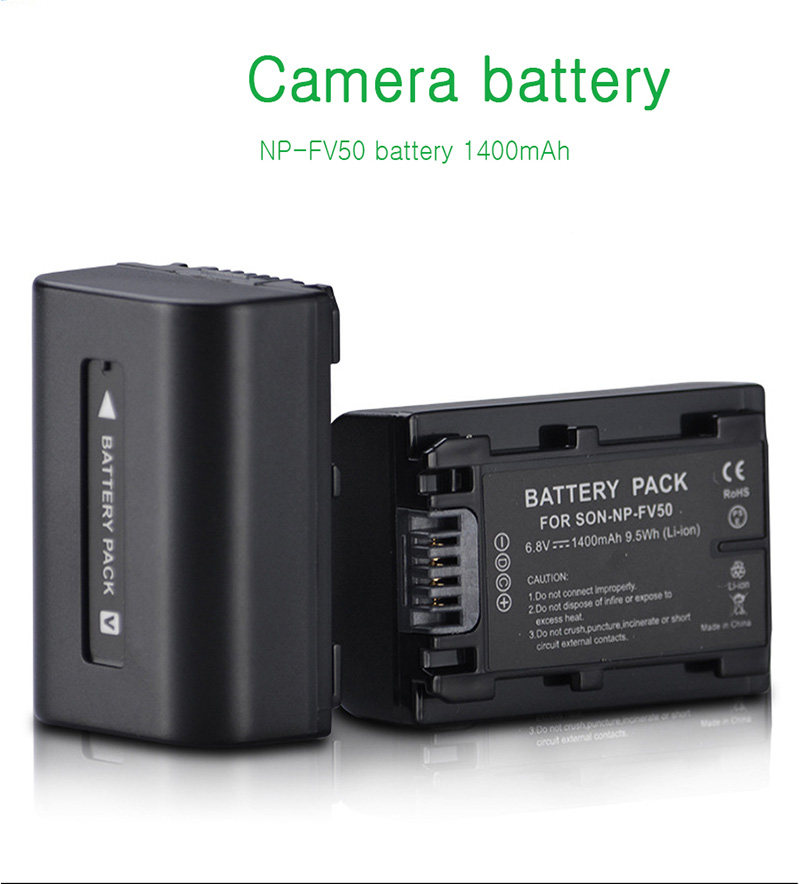 For-Sony-NP-FV50-LCD-USB-Charger-+-1400mAh-NP-FV50_03