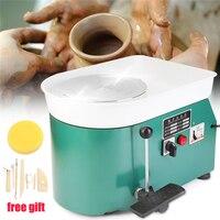 1 Set 220V 250W Green Color AU Plug Electric Pottery Wheel Ceramic Machine DIY Clay Art Craft Tool Equipment