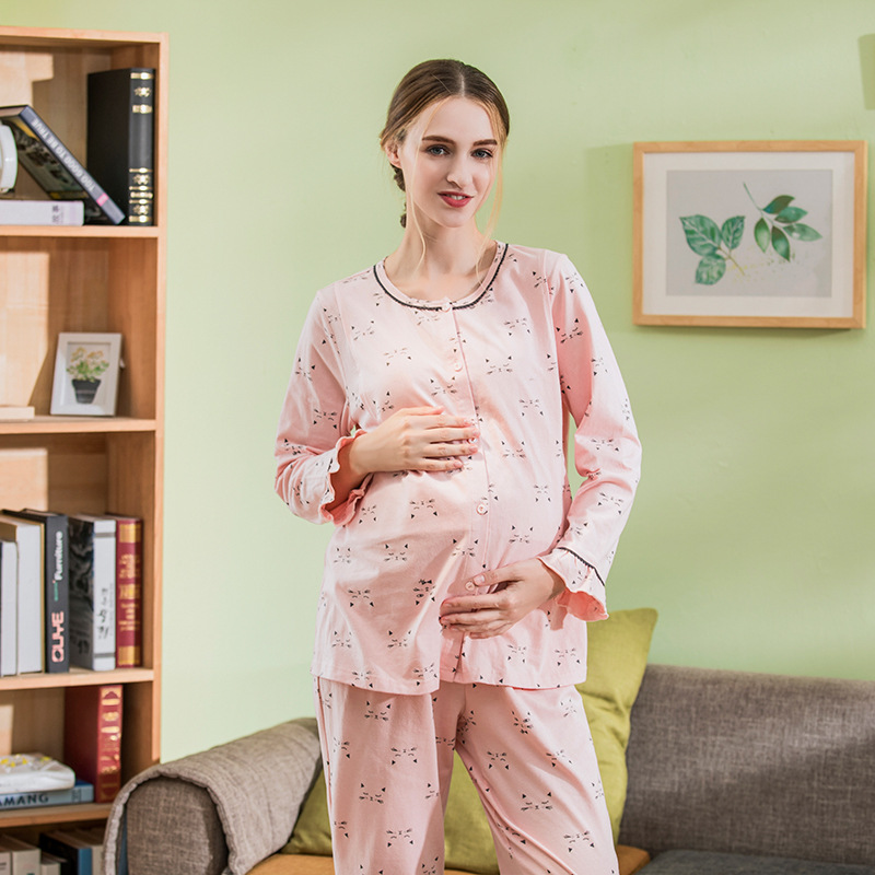 Maternity breastfeeding nursing nightgowns breastfeeding pajamas nursing sleepwear nursing pajamas maternity nightgown breastfeeding nursing cover lactating towel breastfeeding cloth used jacket scarf generous soft good quality maternity clothes