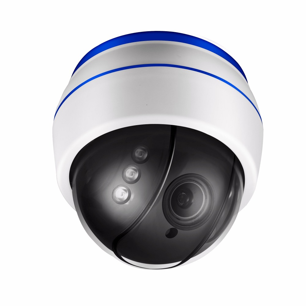 960 P Onvif Беспроводной WI-FI PTZ ip-камера 2,7-13,5 мм 5X оптический зум Встроенный микрофон Поддержка 128 г карты ночное видение ИК 40 м