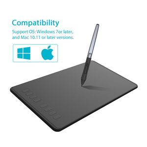 Image 4 - HUION H950P 9 Inch Graphic Tablet Digital Drawing Pen Tablet with 8192 Levels Battery Free Stylus Tilt Function 8 Press Keys