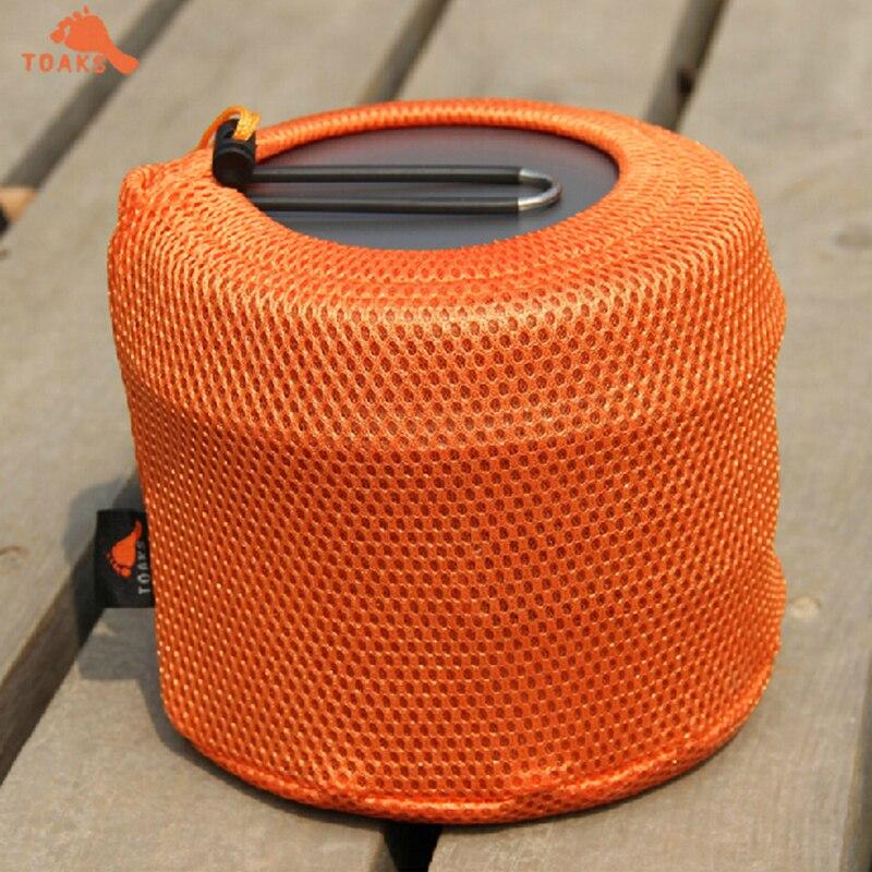 Nuevo Modo Titanium Pot Set Modo CKW-1600 Con Ollas Y Sartenes Para Al Aire Lib
