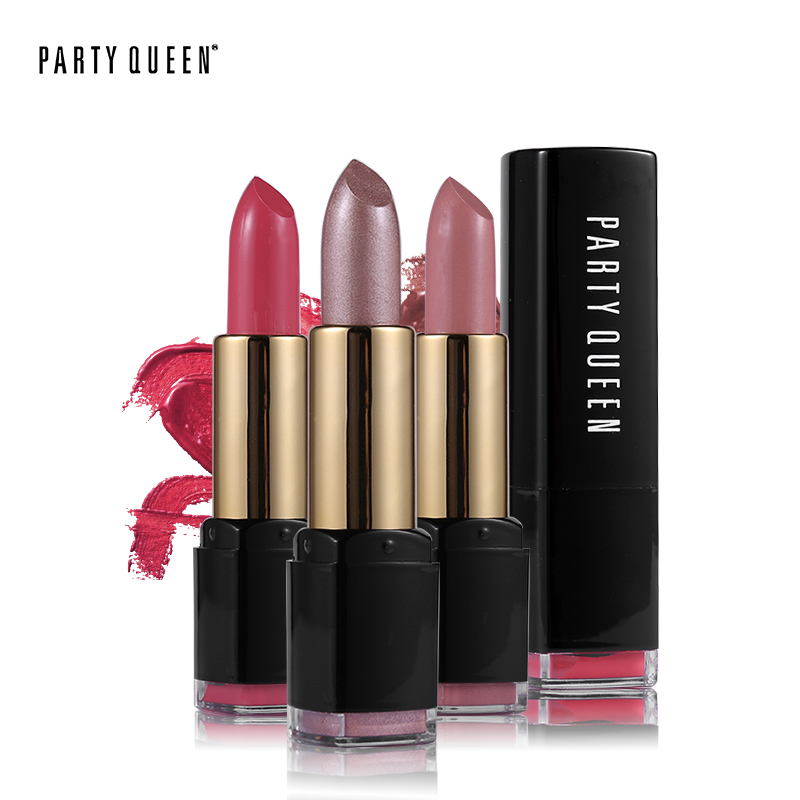 Party Queen Creamy Velvet Matte Rouge Lipstick Makeup Waterproof Ultra Nourish Long Lasting Hydrates Smooth Intense Full Lips