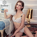New 2017 intimates Brand Bra set and Women Underwear Set lace brassiere push up brassiere set fashion style brief sets hot sell