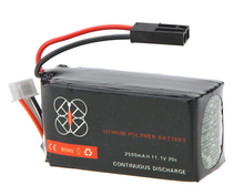 High Quality Upgrade Lipo Battery 11.1V 2500mah 20C for Parrot AR.Drone 2.0 Quadcopter Wholesale Drop freeship(China)