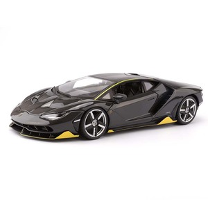 Image 2 - 1:18 scala Pressofusi In LP770 4 Modello di Auto Sportiva Simulato Lega di giocattoli modello di Auto con controllo del volante dello sterzo della ruota anteriore