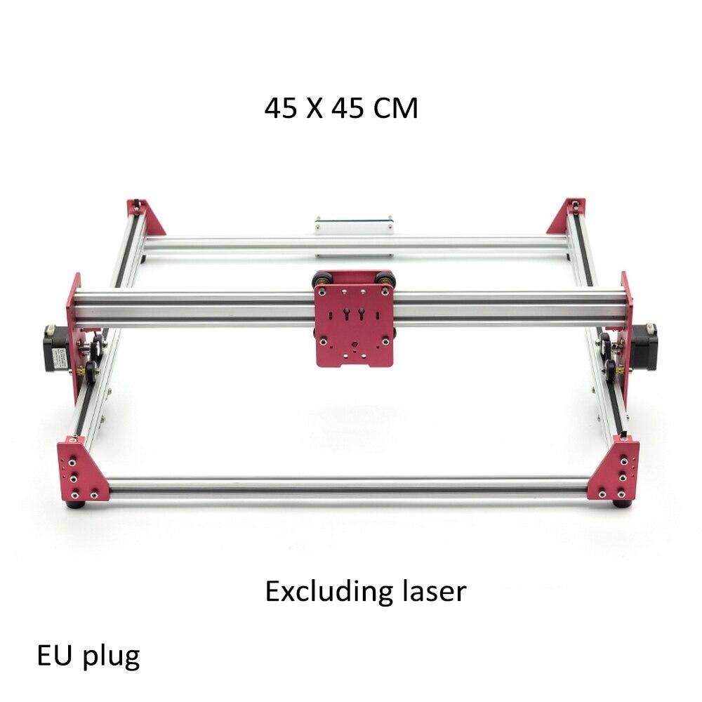 15W Laser gravure Machine 45*45cm bois routeur 500mw 2500mw 5500mw 15000mw bricolage Mini GRBL Laser inoxydable gravure Machine chaude