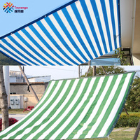 Tewango 90% Shade Rate 135g/sqm D ring 1m Space HDPE Mesh Net Outdoor Shade Sails Patio Cover Garden Netting Anti UV Sunblock