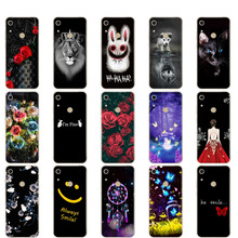 Case For Huawei Honor 8A Case JAT-LX1 Silicone TPU Phone Cover For Honor 8A Pro Coqa 8 A Honor8A Print Painted Shells Bags
