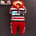 2015 New autumn Baby boys/Girls Clothing sets children warm clothes set kids T-shirt+ pant 2PCS Set child toddler boy clothes