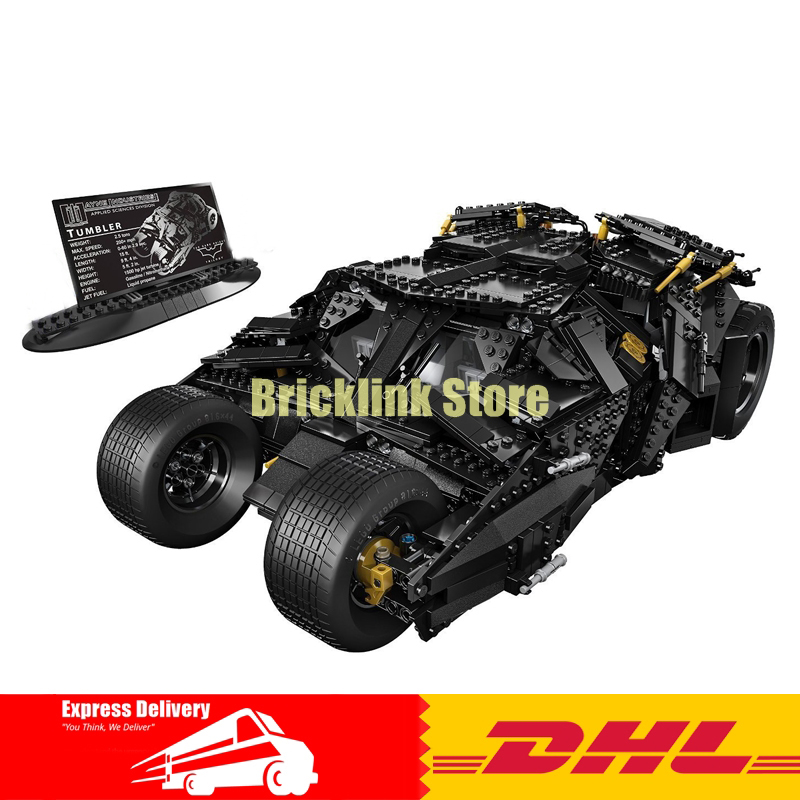 LEPIN 07060 Genuine Super Hero Movie Series The Batman Armored Chariot Set 76023 Educational Building Block Brick Boy Toys 7111 lepin 07060 super series heroes movie the batman armored chariot set diy model batmobile building blocks bricks children toys