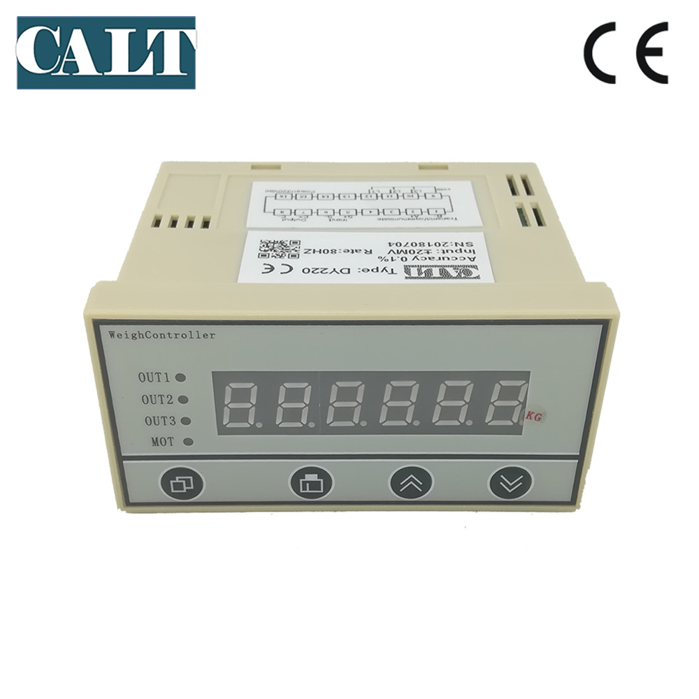 Pressure load cell display controller Batching Display instruments use for weighing sensor DY220