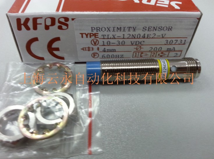 NEW  ORIGINAL TLX-12N04E2-V  Taiwan  kai fang KFPS twice from proximity switch new original ifs204 door proximity switch high quality