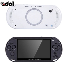 Portable Pocket Handheld Retro Game Player X9 Rechargeable 5-inch 8G Handheld Retro Game Console Video MP3 Player Camera