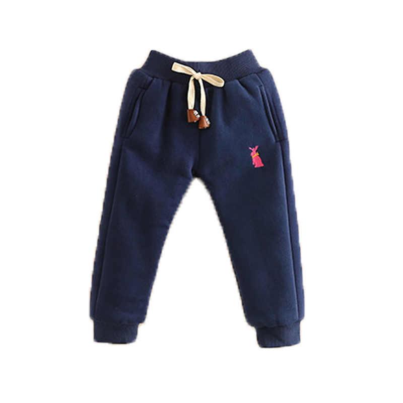 35522953e96eb ... BibiCola Baby Pants Boys Girls Sport Pants Children Thick Winter Warm  Long Trousers Baby Plus Velvet ...