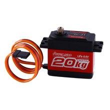 SUPER TORQUE Digital Servo Power HD 4.8-6.6V Crawler Buggy 1:10 1:8 RC Car Free shipping