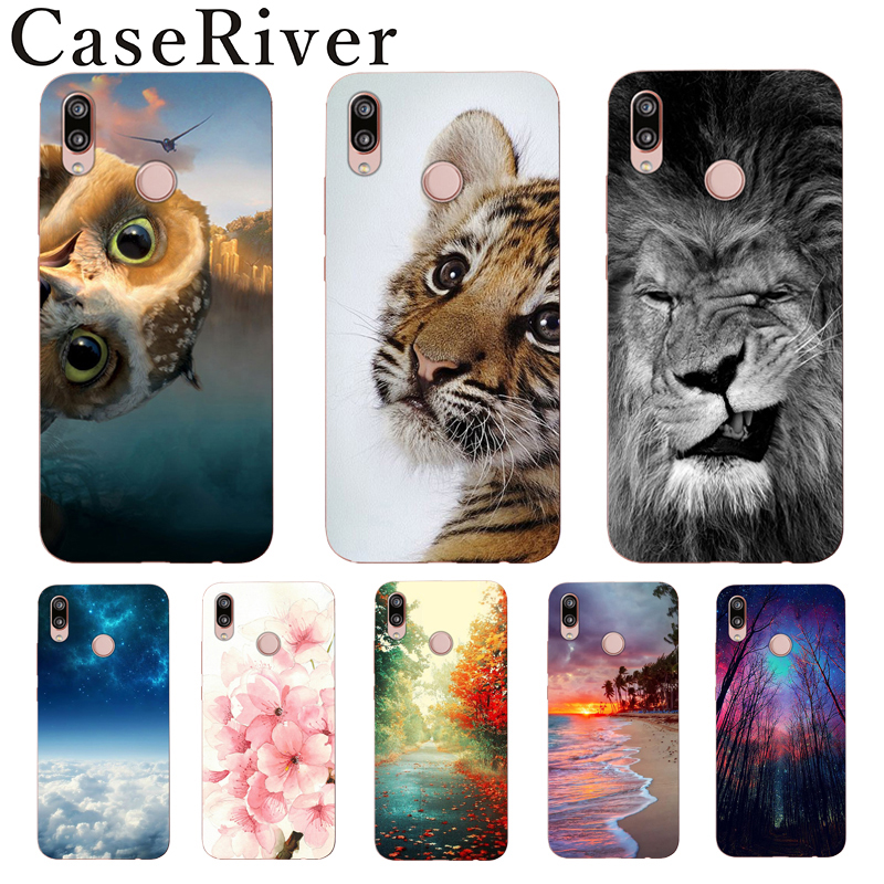 "CaseRiver Soft 5.7"" Huawei P20 Lite Case Huawei Nova 3e Case Cover TPU Soft Silicon Funda Case Huawei P20 Lite Phone Back Shell"