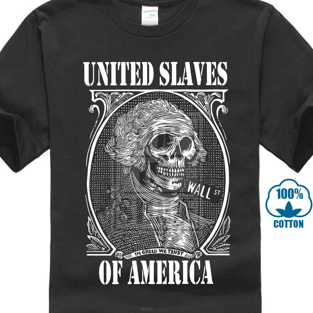 Couchtisch Marvel United Slaves Of America T Shirt Wall Street Capitalism Illuminati